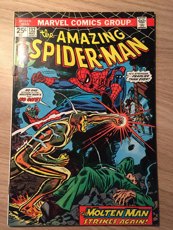 Amazing Spider-man #132 1974
