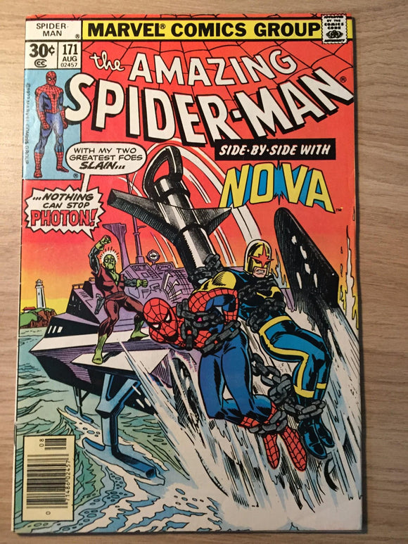 Amazing Spider-man #171 1977