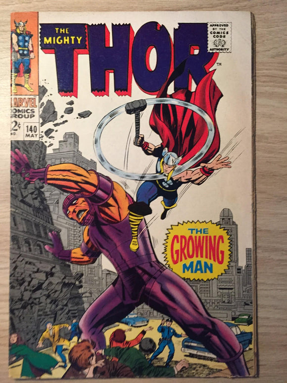 Thor, The Mighty #140 1967