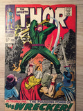 Thor, The Mighty #148 1968 First appearance of The Wrecker; Origin of Black Bolt