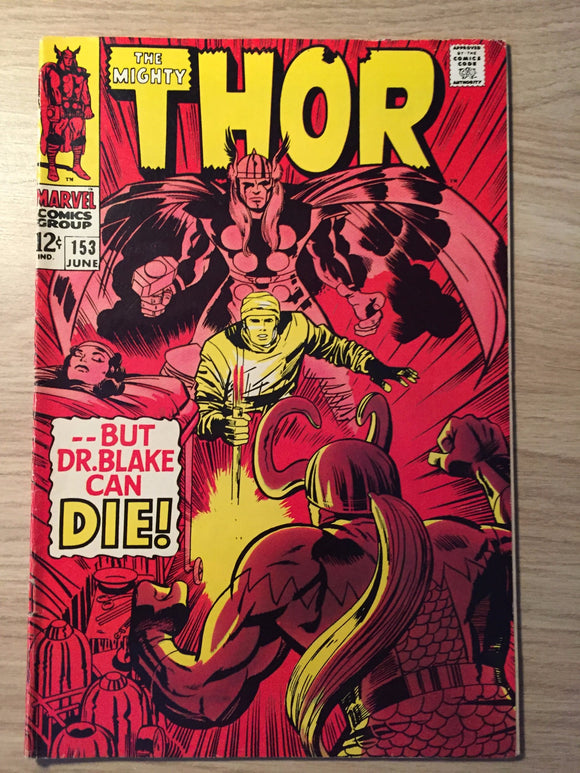 Thor, The Mighty #153 1968