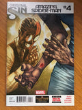 Amazing Spider-man #4 1st Silk Appearance! 2014