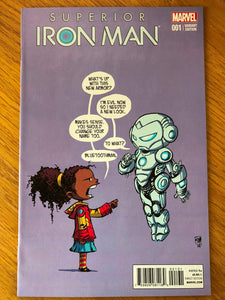 Superior Iron Man #1 Skottie Young Variant