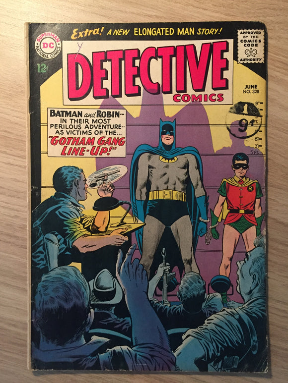 Detective Comics #328 Batman 1964 Death of Alfred; Bob Kane biography