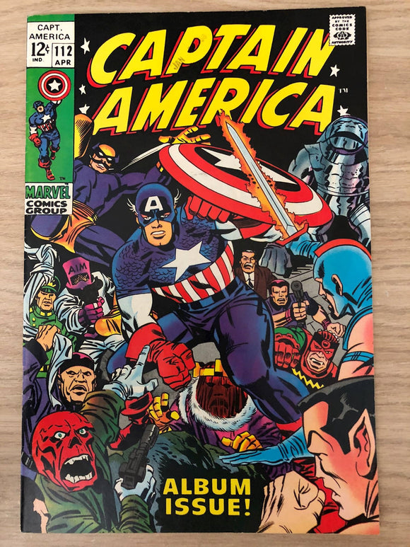Captain America #112  Story of how Cap and Bucky disappear during World War 2 re