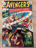 Avengers #7 1964 Vol. 1 Has Unsquare Cut