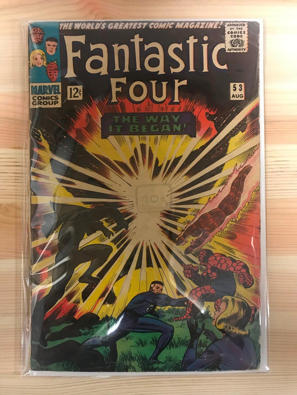 Fantastic Four #54 Second Black Panther
