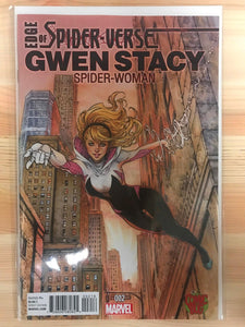 Edge of Spider-Verse #2 Gwen Stacy Spider-Women Colour Comic Bug Variant