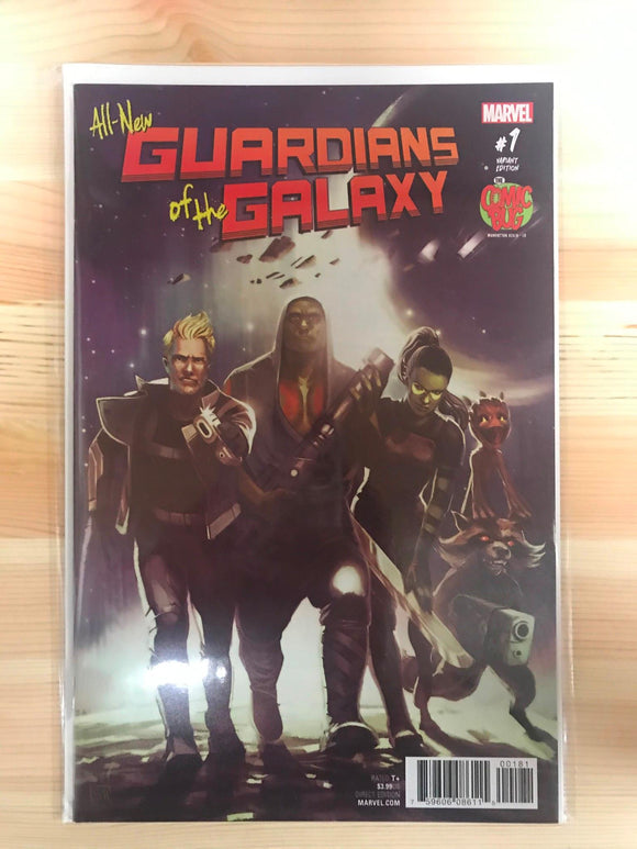 All-New Guardians of the Galaxy #1 Comic Bug Variant
