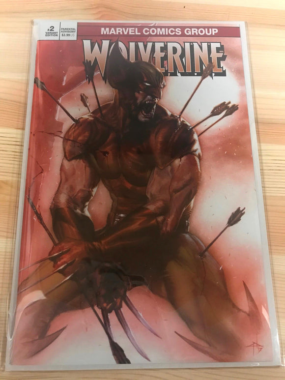 Wolverine #2 Dell'otto Variant. Limited 98 of 550 with COA
