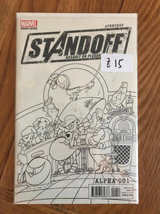 Avengers Standoff  #1 Assault on Pleasant Hill - Alpha Variant