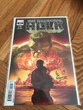 The Immortal Hulk #14 Signed Alex Ewing. COA