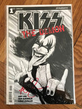 Kiss The Demon #1 Strahm B&W Variant. Signed Amy Chu. COA
