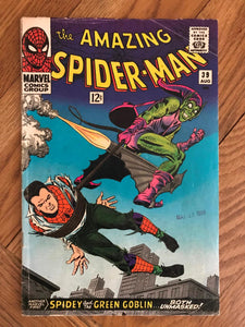 Amazing Spider-man #39 First John Romita Artwork