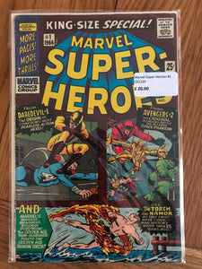 Marvel Super-Heroes #1