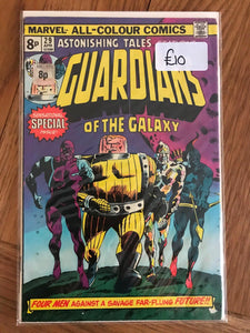 Astonishing Tales #29 First Guardians of the Galaxy,  Pence