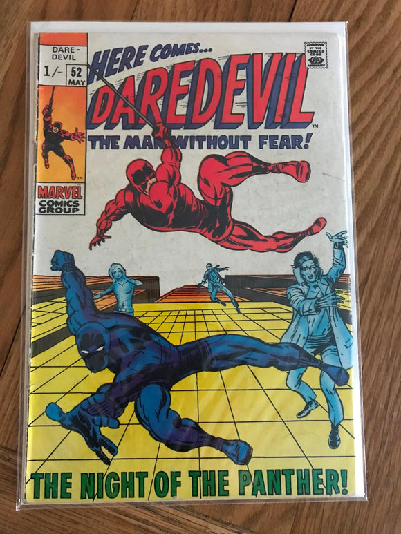 Daredevil #52 First Print