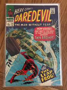 Daredevil #25 First Print
