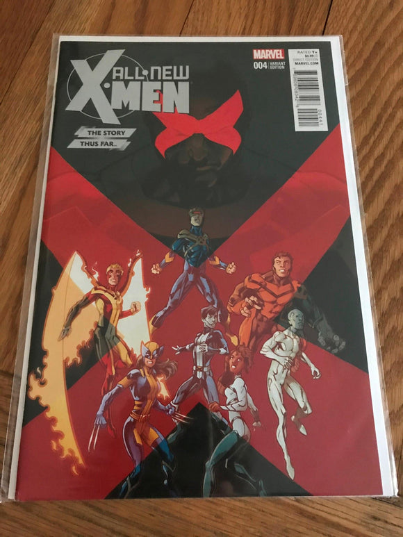 All-new X-Men #4 Story Thus Far Variant