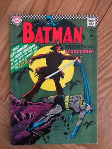 Batman #189 First Silver Age Scarecrow
