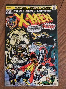 X-Men #94 First new team in title series. Second Colossus, Nightcrawler, Storm,