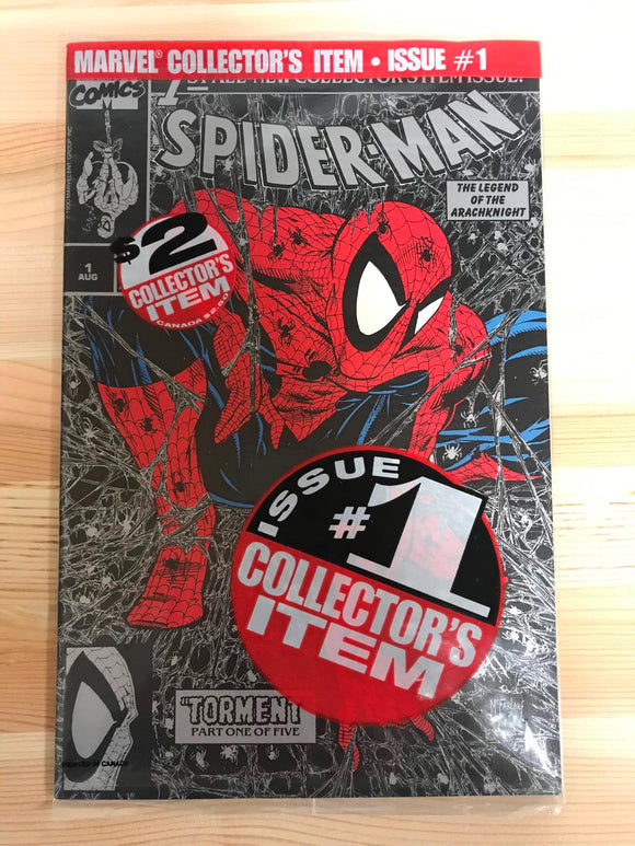 Spider-man #1 Silver Edition Pre-bagged