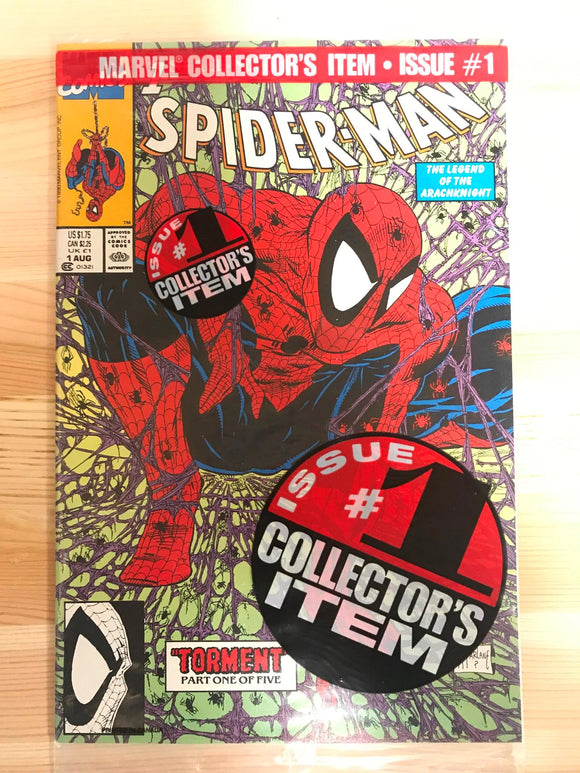 Spider-man #1 Green Edition Pre-bagged