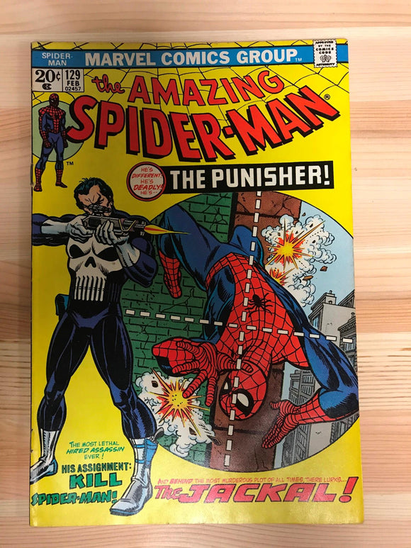 Amazing Spider-man #129 First Punisher