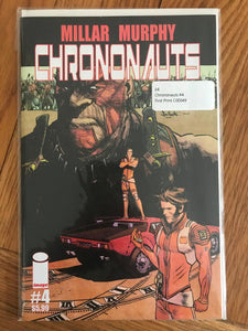 Chrononauts #4 First Print