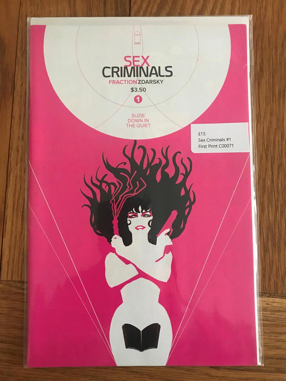 Sex Criminals #1 First Print