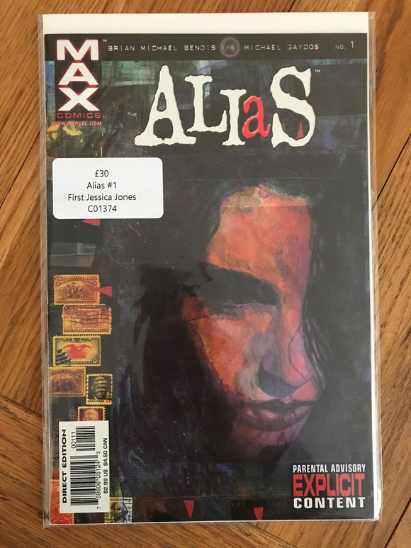 Alias #1 First Jessica Jones