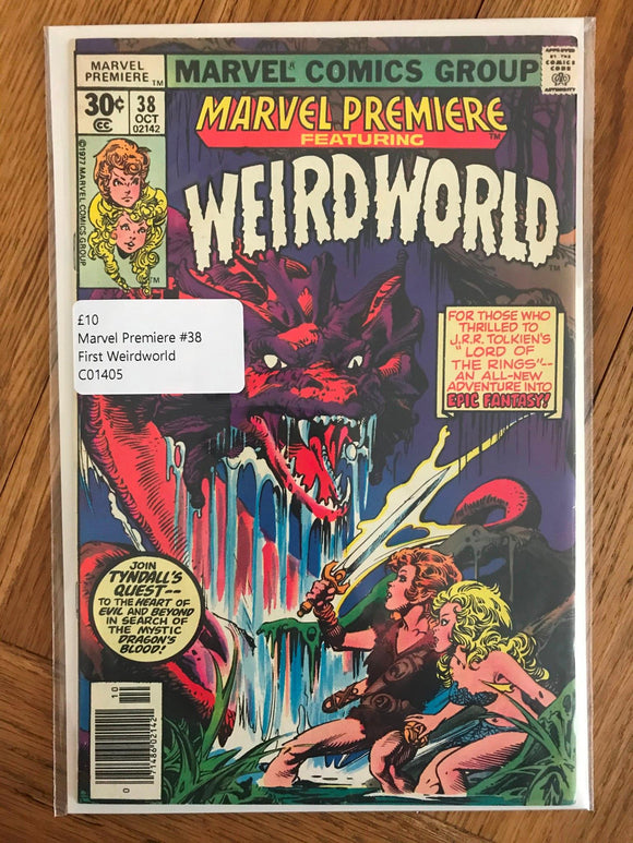 Marvel Premiere #38 First Weirdworld