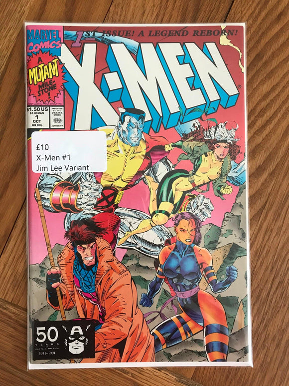 X-Men #1 Jim Lee Variant