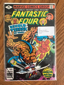 Fantastic Four #211 First Terrax 7.0 FN/VFN