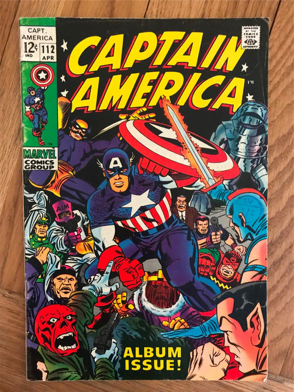 Captain America #112 Story of how Cap and Bucky disappear during World War II