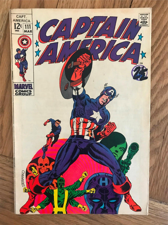 Captain America #111 Death of Captain America