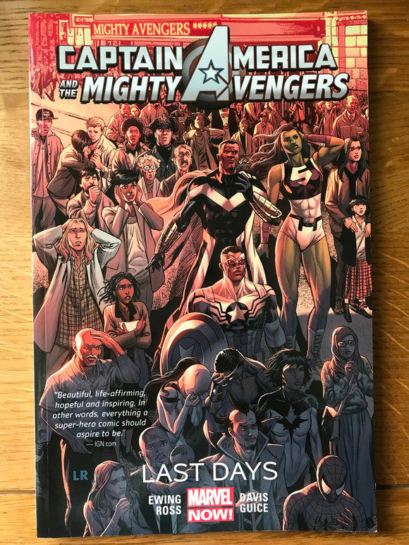 Marvel Captain America and The Mighty Avengers Last Days Graphic Novel
