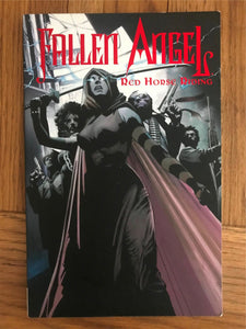 IDW Fallen Angel 5 Red Horse Riding Graphic Novel