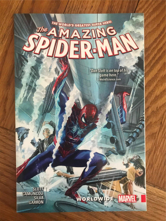Amazing Spider-man Worldwide Graphic Novel
