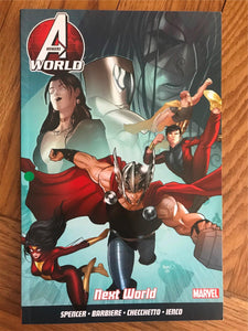 Avengers World Next World Graphic Novel