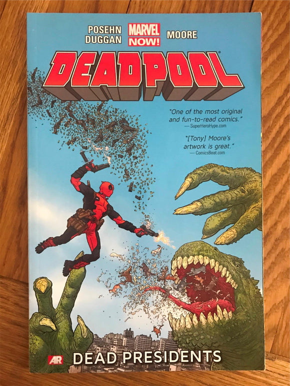 Deadpool Dead Presidents Graphic Novel