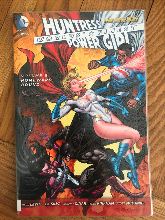 Worlds Finest Homeward Bound Vol.5 Graphic Novel
