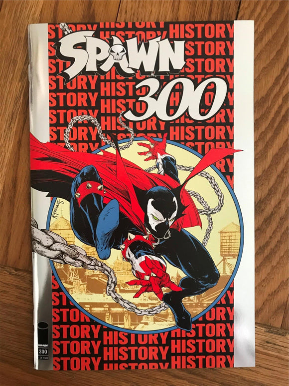 Spawn #300 ASM #300 Homage. Silver Foil. NYCC Convention Variant 1:1500
