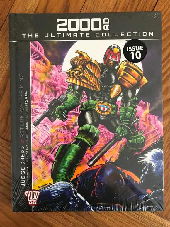 2000AD The Ultimate Collection Judge Dredd Return of the King Graphic Novel