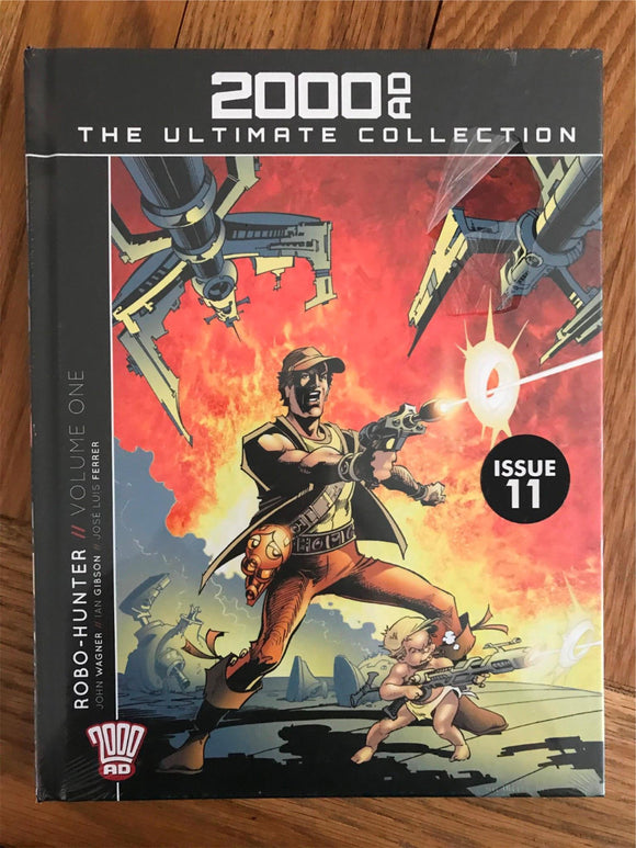 2000AD The Ultimate Collection Robo-Hunter Vol.One Graphic Novel