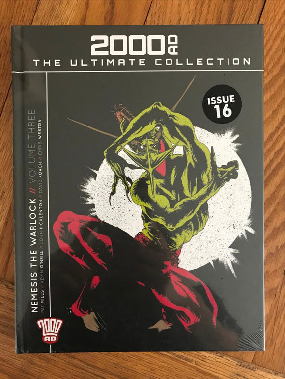 2000AD The Ultimate Collection Nemesis The Warlock Vol. Three Graphic Novel
