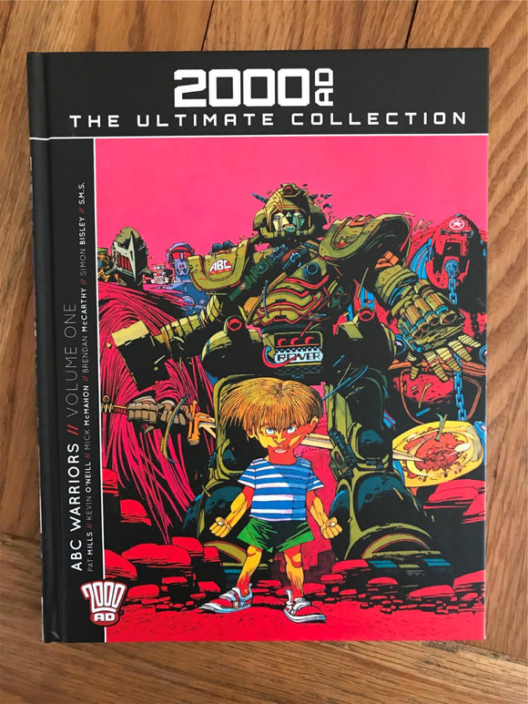 2000AD The Ultimate Collection ABC Warriors Vol. One Graphic Novel