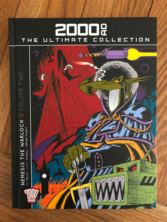 2000AD The Ultimate Collection Nemesis The Warlock Vol II Graphic Novel