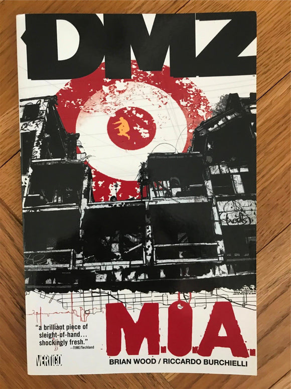 DMZ M.I.A Graphic Novel