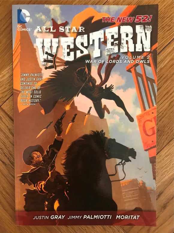 All Star Western Vol. 2 War of Lords and Owls Graphic Novel